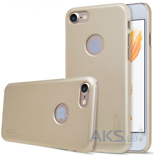 Чехол Nillkin Super Frosted Shield Apple iPhone 7 Gold