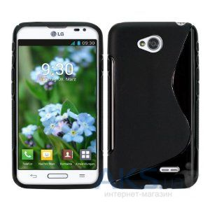 Чехол Celebrity TPU cover case for LG L70 Black
