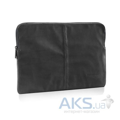 Чехол Decoded Leather Sleeve with Zipper for MacBook Pro / Air / Retina 13 Black (D3SZ13BK)