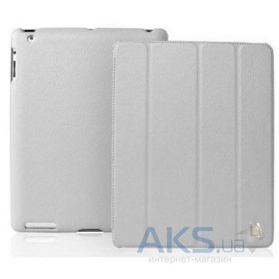 Чехол для планшета JustCase Leather Case For iPad 2/3/4 Grey (SS0010)