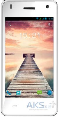 Сенсор (тачскрин) для Fly IQ4491 Quad ERA Life 3 Original White