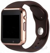 Умные часы UWatch A1 (Gold with Brown)
