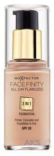 Тональный крем Max Factor Facefinity All Day Flawless 3-in-1 Foundation SPF 20 45 Теплый миндаль