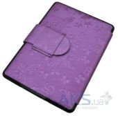 Вид 3 - Обложка (чехол) Leather case for Amazon Kindle Paperwhite Butterfly Purple