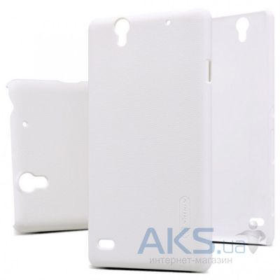 Чехол Nillkin Super Frosted Shield Sony Xperia C4 E5333 White