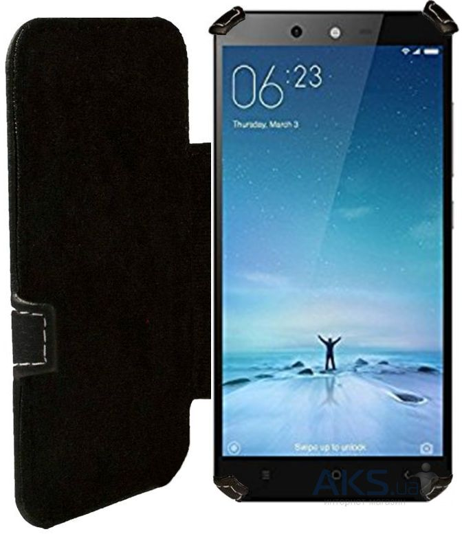 Чехол Status Book Series Xiaomi Redmi 5 Plus Black Matte