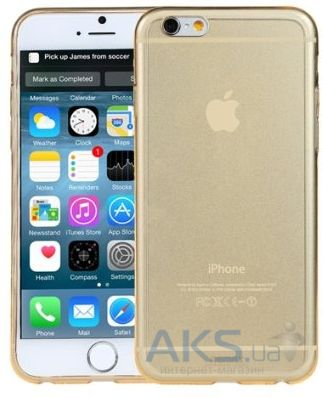 Чехол Remax Crystal Series Apple iPhone 6 Plus, iPhone 6S Plus Gold