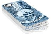 Вид 4 - Чехол ITSkins Phantom cover case for iPhone 5/5S Skull 13 (APH5-PHANT-AQUA)