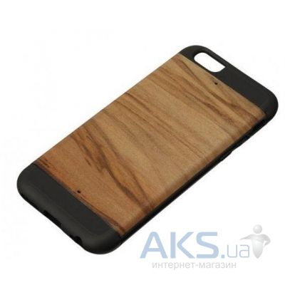 Чехол Man'n'wood Case Wood  for iPhone 6/6S Cappucino/Black (M1421B)