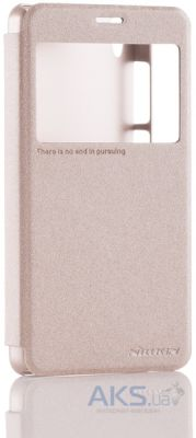 Чехол Nillkin Sparkle Leather Series Lenovo S850 Gold