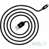 Кабель USB JUST Copper Micro USB Cable 1.2 м. Black (MCR-CPR12-BLCK)