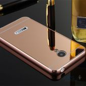Вид 2 - Чехол Original Mirror Series Meizu M2, M2 Mini Pink Gold