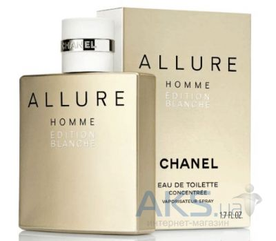 Chanel Allure Homme Edition Blanche Туалетная вода 50 ml