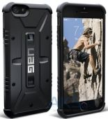 Вид 4 - Чехол UAG Urban Armor Gear Apple iPhone 5, iPhone 5S, iPhone 5SE Black (IPH5S-BLK/BLK-W/SCRN-VP)
