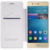 Чехол Nillkin Qin Leather Series Huawei Ascend P9 Lite White