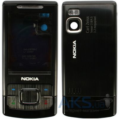 Корпус для nokia 6500 slide (cd000379) (серебристый)
