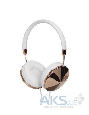 Наушники (гарнитура) Frends Taylor On-Ear Headphones White/Rose Gold (010897)