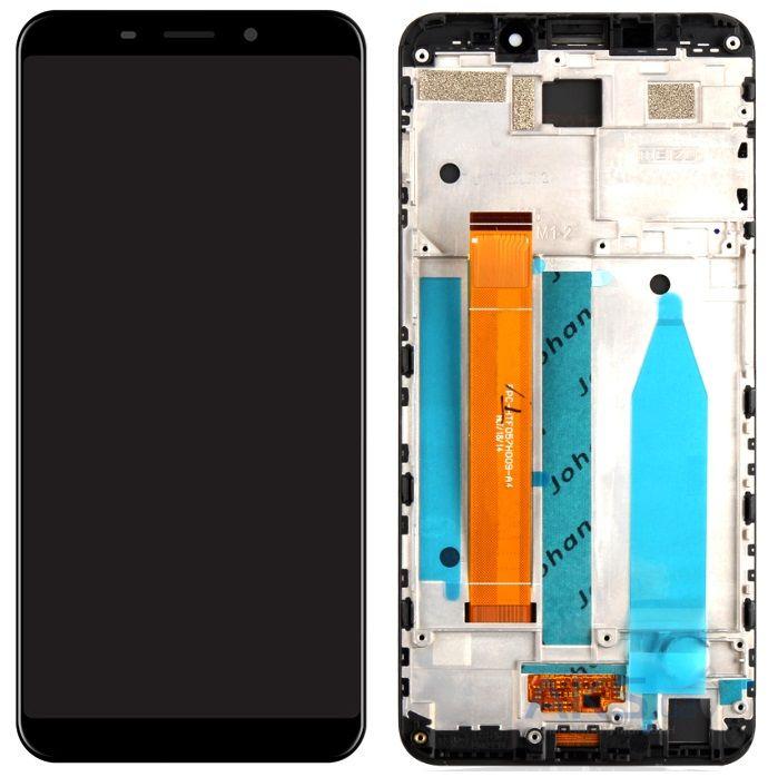 ᐈ Экран Meizu M6s + Touchscreen with frame Black купить в Украине и Киеве