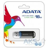 Вид 3 - Флешка ADATA 16Gb C906 Black USB 2.0 (АС906-16G-RBK)