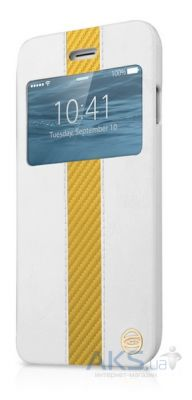 Чехол ITSkins Visionary Drift for iPhone 6/6S White/Gold (APH6-VISDR-WHGD)
