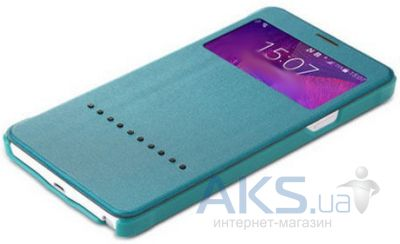 Чехол Rock Rapid Series Samsung N910 Galaxy Note 4 Turquoise