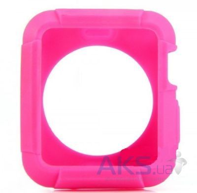 iBest чехол для Apple Watch 42mm TPU Case Pink