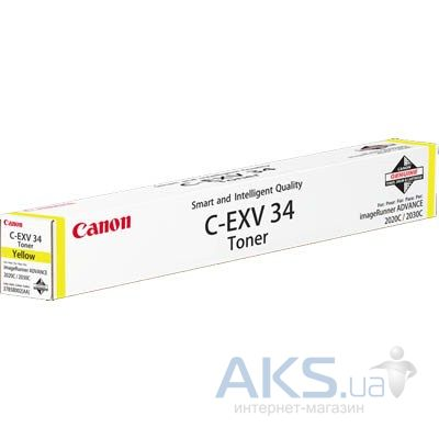 Картридж Canon C-EXV34 для iRC2020/2030 (3785B002AA) Yellow