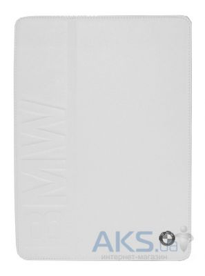 Чехол для планшета CG Mobile BMW Folio Case for Apple iPad Mini Retina Book Type Debossed Logo White (BMFCPM2LOW)