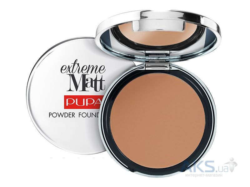 Пудра Pupa Extreme Matt Powder Foundation №080 - Amber