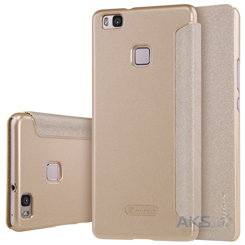 Чехол Nillkin Sparkle Leather Series Huawei Ascend P9 Lite Gold