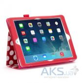 Вид 3 - Чехол для планшета Griffin Back Bay Folio Apple iPad Air Polka Red/White/Pink (GB37901)