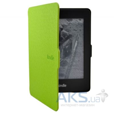 Обложка (чехол) Amazon Kindle Superslim cover for Kindle 5 with Magnetic clasp Light Green
