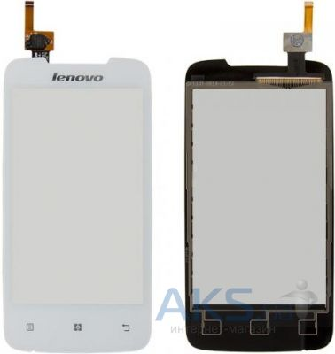 Сенсор (тачскрин) для Lenovo A390T Original White