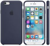 Чехол Apple Silicone Case iPhone 6S Midning Blue (MKY22)