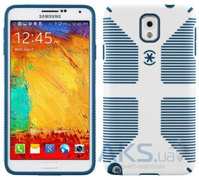Чехол Speck CandyShell Grip for Samsung Galaxy Note 3 White/Deep Sea Blue (SPK-A2436)