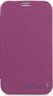 Чехол Melkco Book leather case for Samsung i8190 Galaxy S III Mini Purple (SSGN81LCFB2PELC)