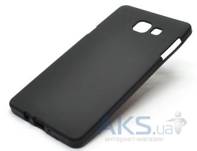 Чехол Original Silicon Case Matte Samsung A510 Galaxy A5 2016 Black