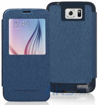 Чехол Mercury Wow Bumper Series Samsung N920 Galaxy Note 5 Blue