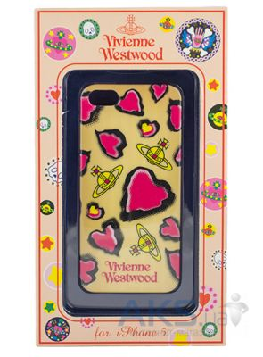Чехол Vivienne Westwood Case Heart Apple iPhone 5, iPhone 5S, iPhone 5SE