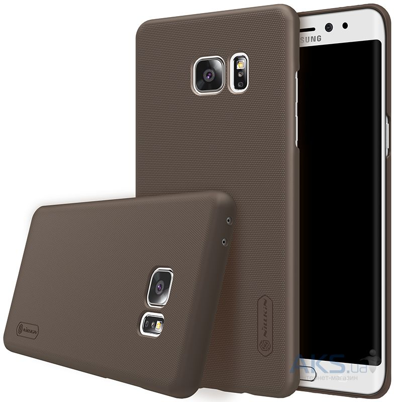 Чехол Nillkin Super Frosted Shield Samsung N930 Galaxy Note 7 Brown