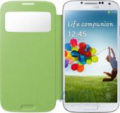 Чехол Samsung S View Cover I9500 Galaxy S4 Green (EF-CI950BGEGWW)