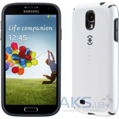 Чехол Speck for Samsung I9500 Galaxy S4 CandyShell White/Charcoal Grey (SPK-A2053)