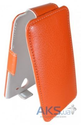 Чехол Sirius Flip case for HTC Desire 210 Orange