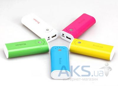 Внешний аккумулятор power bank Yoobao Power Bank 5200 mAh Bright Moon YB-622, red [PBYB622-RD]