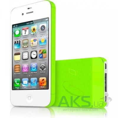Чехол ITSkins ZERO.3 for iPhone 4/iPhone 4S Green (AP4S-ZERO3-GREN)
