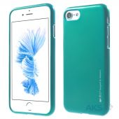 Чехол Mercury Jelly Metal Series Apple iPhone 7 Mint Green