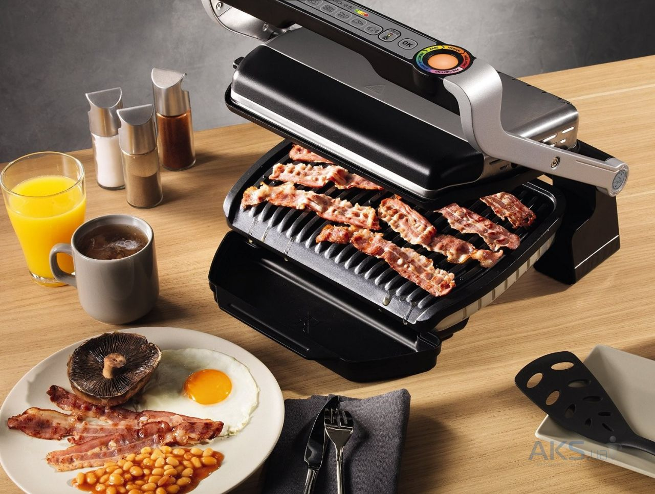 Вид 6 - Гриль Tefal 712D34 Optigrill Plus
