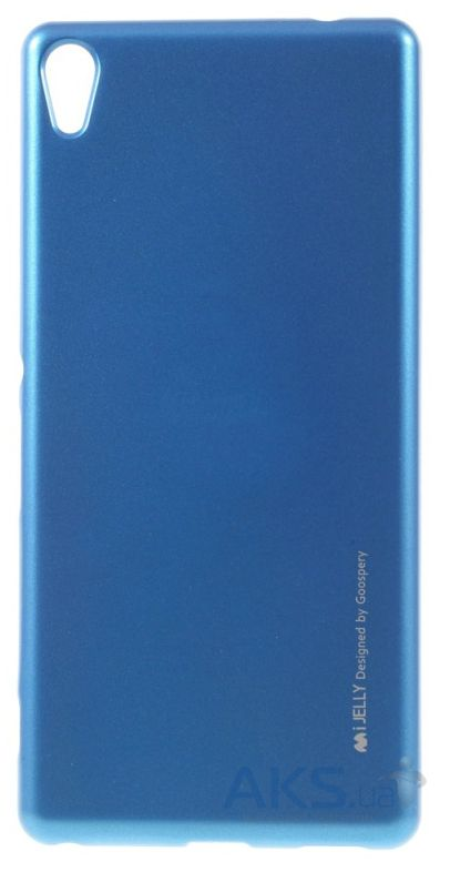 Чехол Mercury Jelly Metal Series Sony Xperia XA Ultra Blue