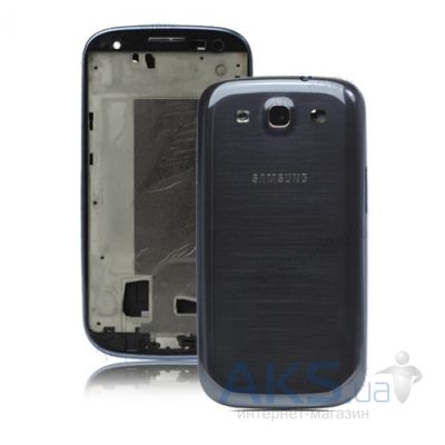 Корпус Samsung i9300 Galaxy S3 Dark Blue