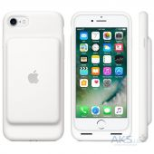 Вид 3 - Внешний аккумулятор Apple Smart Battery Case for iPhone 7 White (MN012)
